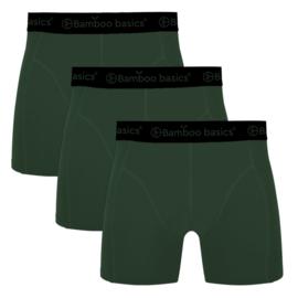 Bamboo Basics boxershort Rico-015 (army, 3-pack)