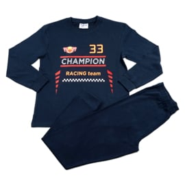 Formule 1 Champion Fun2Wear pyjama navy (140 t/m 176)