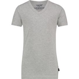 Vingino t-shirt Grey-Melee V-neck NOS