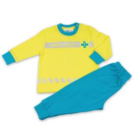 Ambulance uniform Fun2Wear baby pyjama geel (62 t/m 86))