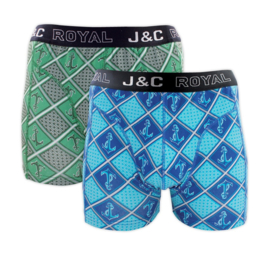J&C boxershort H246 anchor (2-pack) S t/m XL
