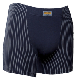 Gentlemen heren boxershort krijtstreep donker blauw
