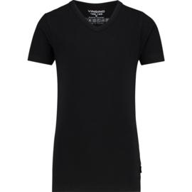 Vingino t-shirt Black V-neck NOS