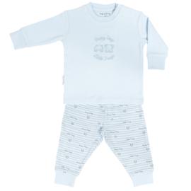 Frogs & Dogs baby pyjama blauw (62 t/m 86)