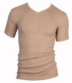 Beeren heren t-shirt (tino) V-hals invisible
