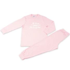 Opa's knapste Fun2Wear baby pyjama l. roze (62 t/m 86)