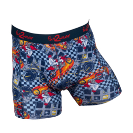 Fun2Wear jongens boxershort Racing Motor