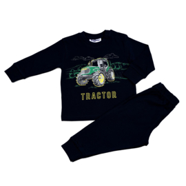 Tractor Fun2Wear peuter pyjama zwart (92 t/m 128)