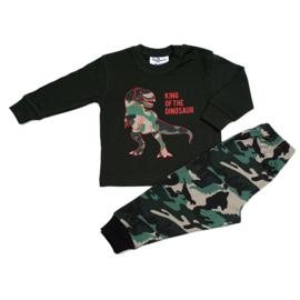 Dinosaurus Fun2Wear baby pyjama rood (62 t/m 86)