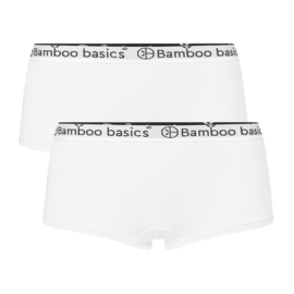 Bamboo Basics hipster Iris wit (2-pack)