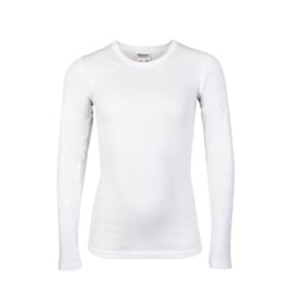 Beeren jongens t-shirt lange mouw wit