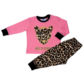 Fun2Wear wild child rose peuter pyjama (92 t/m 128)