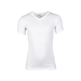 Beeren jongens t-shirt korte mouw V-hals wit