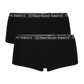 Bamboo Basics hipster Iris zwart (2-pack)