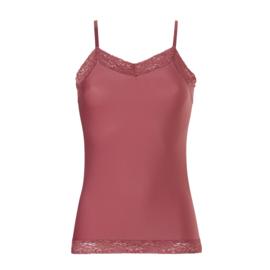 Ten Cate dames Secrets spaghetti top lace ash pink