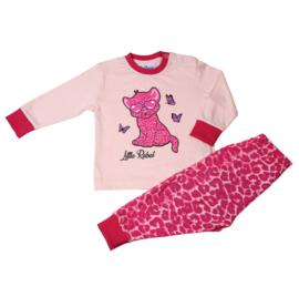 Little Rebel baby pyjama l. roze (62 t/m 86)