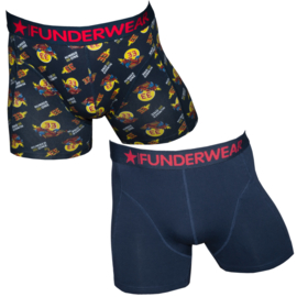 Funderwear heren boxershort F1 Number one (2-pack)
