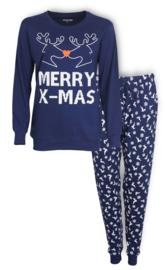 Temptation dames pyjama blauw (2001A) S/L/XL/XXL