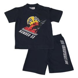 Fun2Wear Formule 1 Number 33 baby shortama (62 t/m 86)