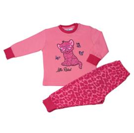 Little Rebel baby pyjama d. roze (92 t/m 128)