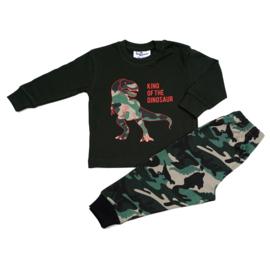 Dinosaurus Fun2Wear peuter pyjama rood (92/98/104)