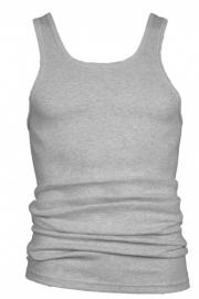 Beeren heren hemd/singlet melee (licht grijs)