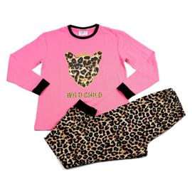 Wild Child Fun2Wear rose peuter pyjama (140 t/m 176)