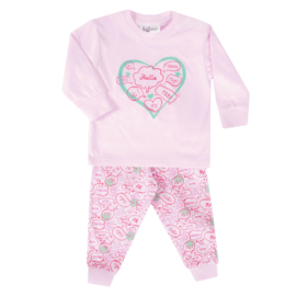 Fun2Wear Dream peuter pyjama rose (98 t/m 128)