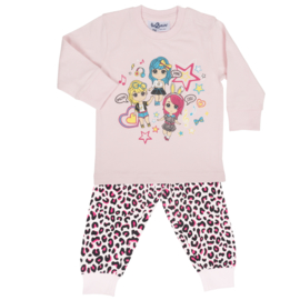 Fun2Wear Amazing Girls peuter pyjama l. roze (92 t/m 128)