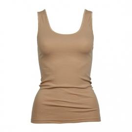 Beeren dames hemd Tactel  (micro) breed bandje huid