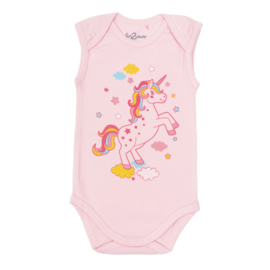 Fun2Wear Unicorn roze romper