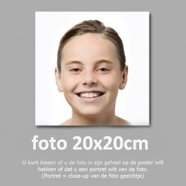 20x20cm foto afdruk