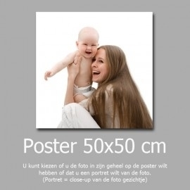 50x50cm foto afdruk
