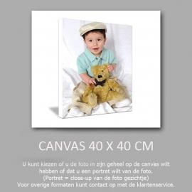 Canvas 40 x 40 cm