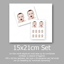 15x21cm Voordeelset Pasfoto+ DuoFoto