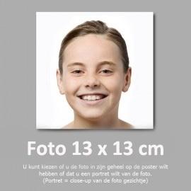 13x13 cm foto afdruk