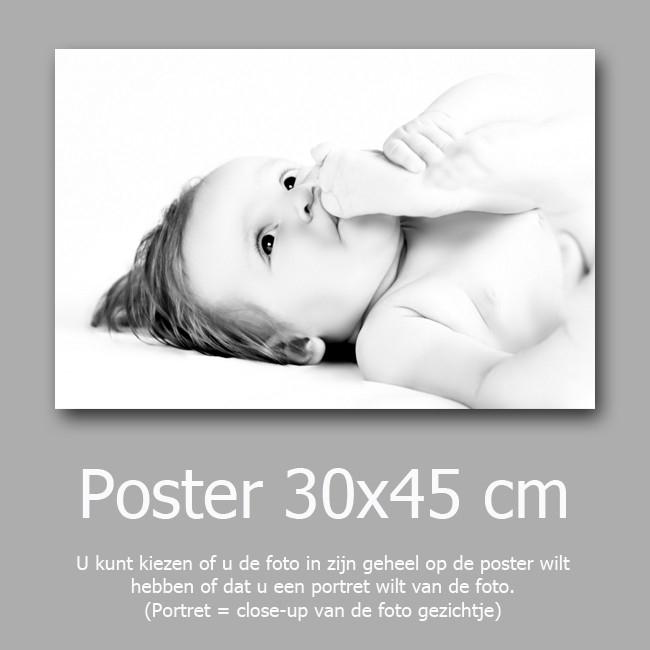 3 posters van 30x45 cm halen 2 betalen