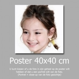 40x40cm foto afdruk