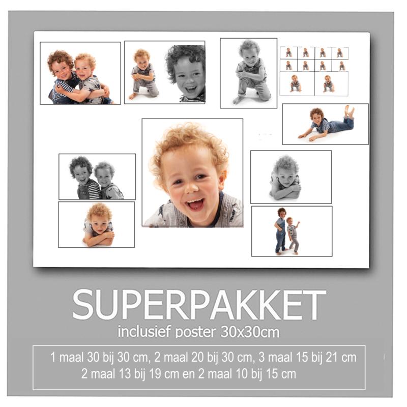 Gigantpakket + digitale foto's