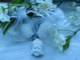 3 st. Boeddha  hoofdje