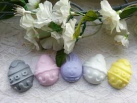 3 st. Paas eieren.