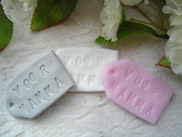 Zeep label Voor Mama