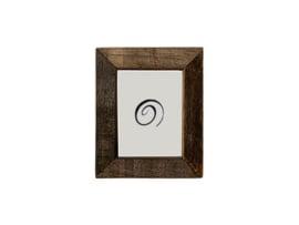 Fotolijstje hout - bruin - L