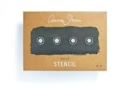 Annies Sloan Stencil Circles A3