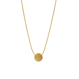 Dansk ketting Vanity Mini Dot  - Goud - 9C6620