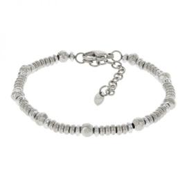 Kalli schakelarmband 2578 - Zilver