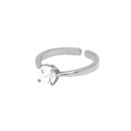 Dansk Ring - Shimmer Simple Silver - 1A1006