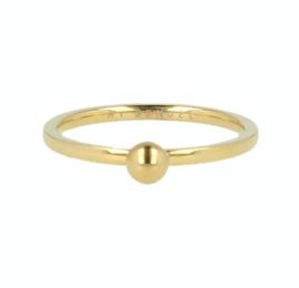 My Bendel - Ring met bol - Goud