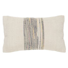 AAI kussen  off white - pastels 50 x 30 cm