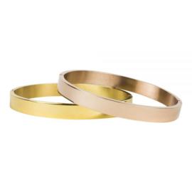 Kalli armband 2034 - 6 mm  - Goud